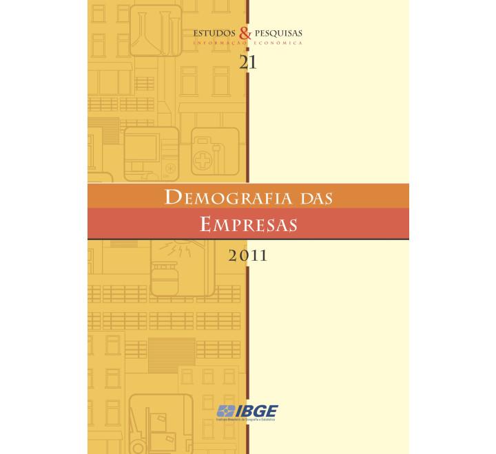 Demografia das Empresas 2011