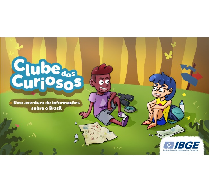 Clube dos Curiosos - Uma aventura de informações sobre o Brasil