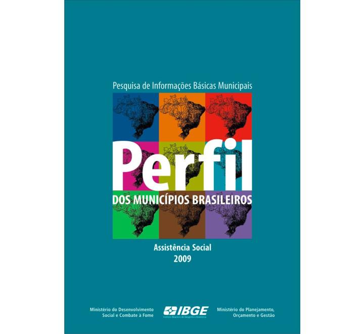Perfil dos municípios brasileiros 2009 - Assistência Social