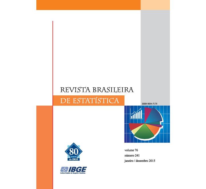 Revista brasileira de estatística 2015 - v.76 - n.241 - jan/dez