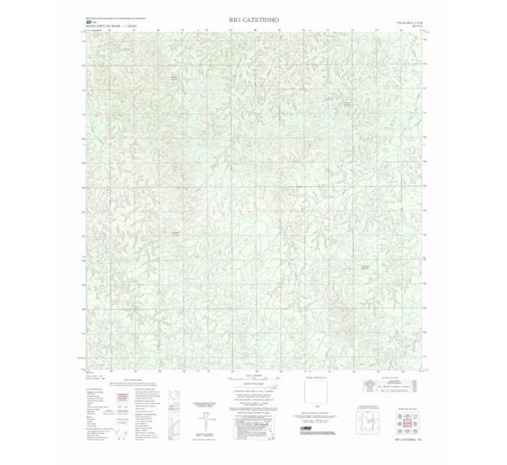 RIO CATETINHO - ed. 1986 - impressão digital
