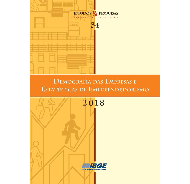 Demografia das Empresas e Estatísticas de Empreendedorismo 2019