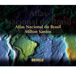 Atlas Nacional do Brasil Milton Santos