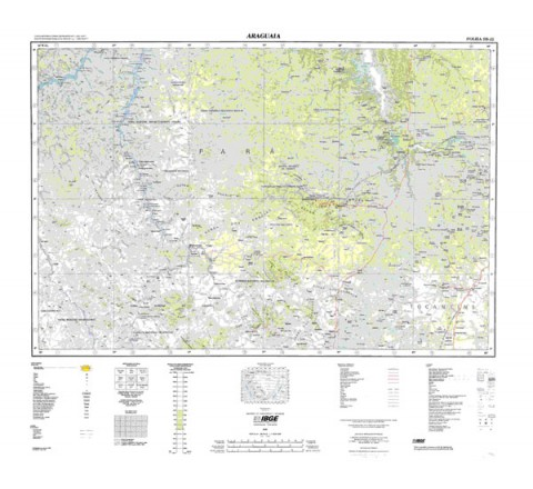 ARAGUAIA - ed. 1998 - impressão digital