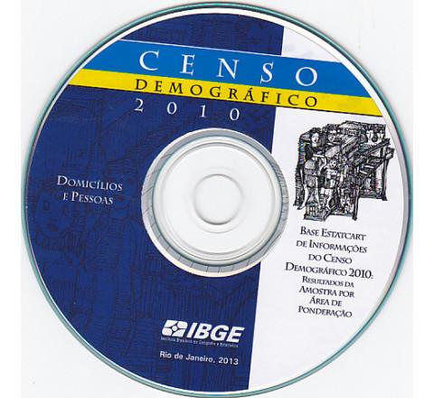 Base Estatcart de informações do censo demográfico 2010: resultados da amostra por área de ponderação