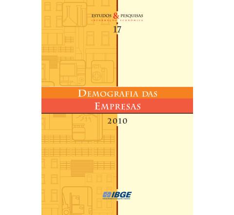 Demografia das Empresas 2010