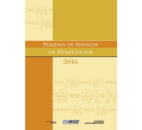 Pesquisa de Serviços de Hospedagem 2016