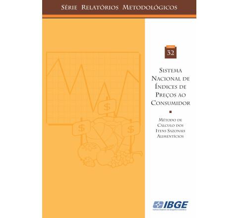 Sistema nacional de índices de preços ao consumidor - Método de cálculo dos itens sazonais alimentícios