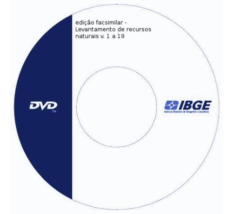 edição facsimilar - Levantamento de recursos naturais v. 1 a 19