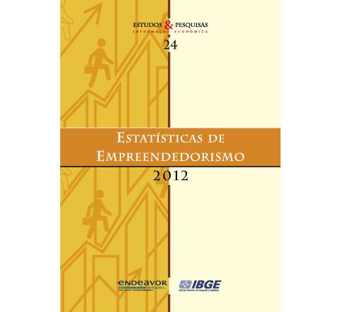 Estatísticas de Empreendedorismo 2012