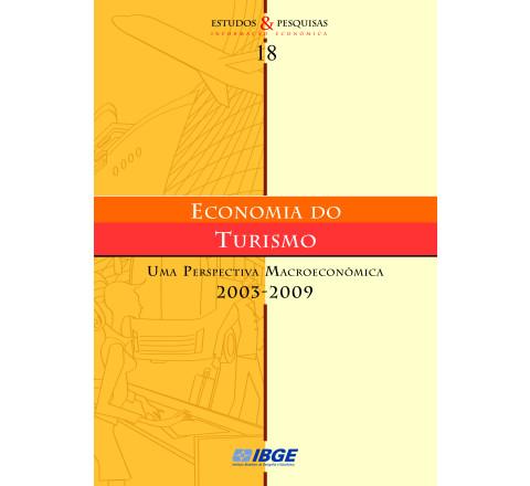 Economia do turismo -  Uma perspectiva macroeconômica 2003-2009