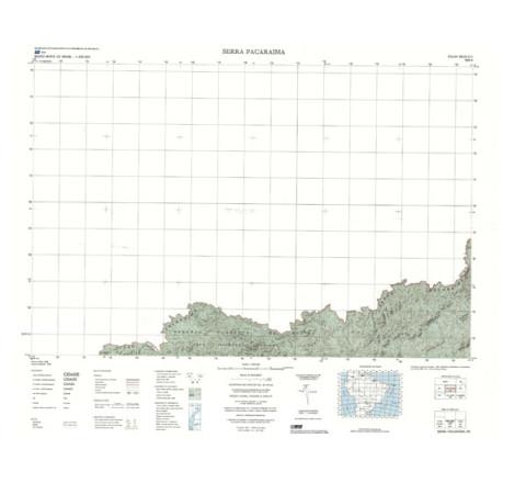 SERRA PACARAIMA - ed. 1986 - impressão digital