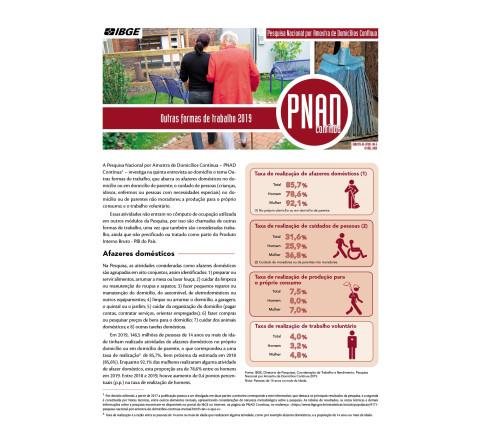 PNAD Contínua - Outras Formas de Trabalho 2019