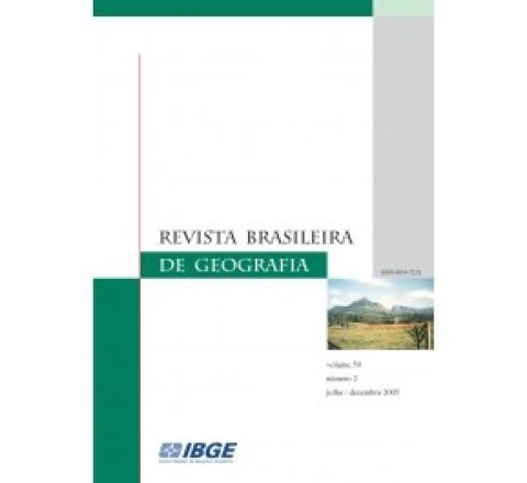 Revista Brasileira de geografia 2006 - v.60 - n.1-2 - jan/dez
