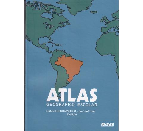 Atlas geográfico escolar - Ensino Fundamental - do 6º a 9º ano - 2ª edição