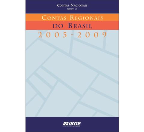 Contas Regionais do Brasil 2005-2009
