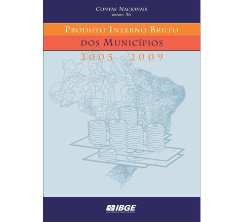 Produto interno bruto dos municípios 2005-2009