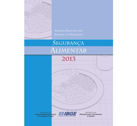 PNAD 2013 - Segurança alimentar