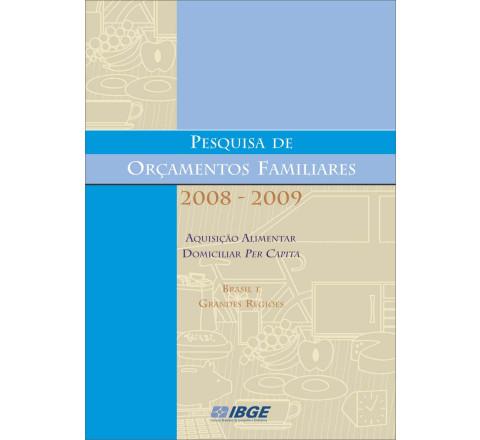 POF 2008-2009 - Aquisição Alimentar