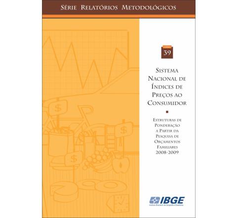 Sistema nacional de índices de preços ao consumidor - Estrutura de ponderação a partir da POF 2002 - 2003