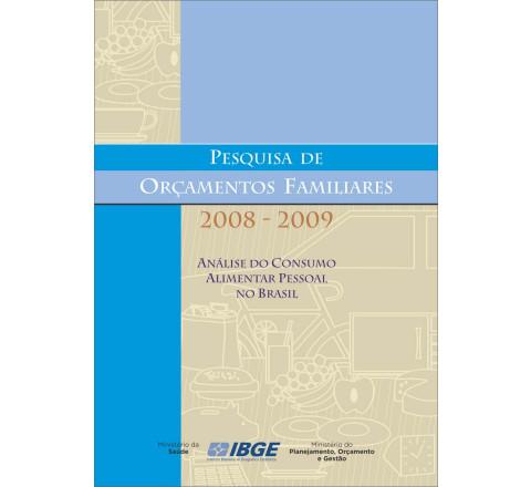 POF 2008-2009 - Análise do Consumo Alimentar