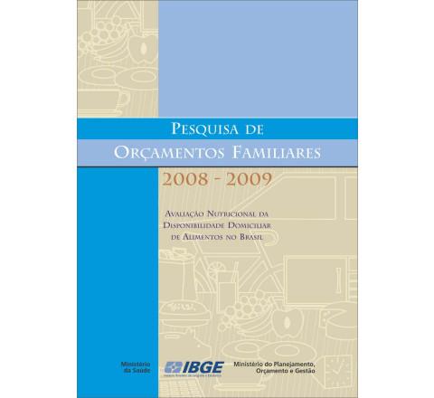 POF 2008-2009 - Avaliação Nutricional